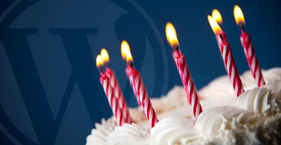 WordPress viert zijn 8ste verjaardag vandaag!