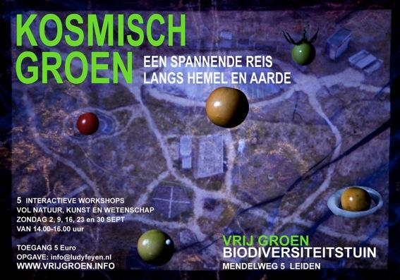 Workshops Kosmisch Groen bij Vrij Groen Leiden