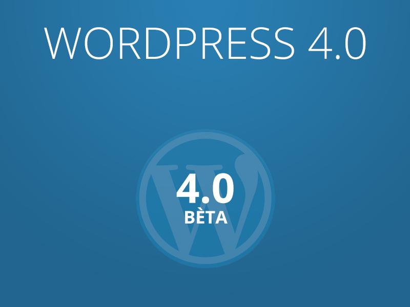 WordPress 4.0 features