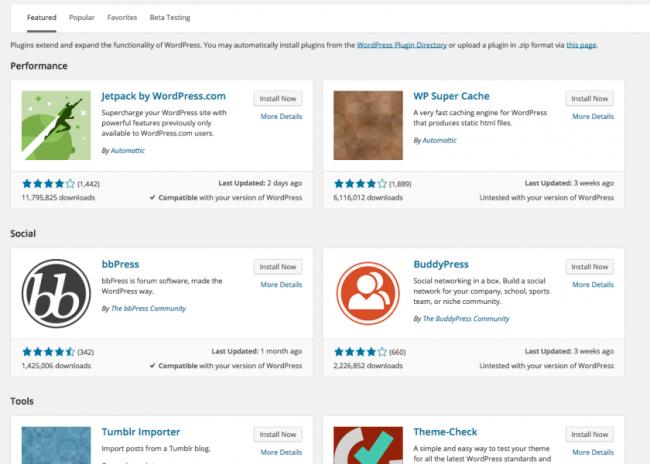 plugin verbeteringen wordpress 4.0